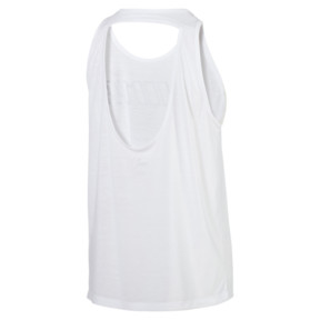 Thumbnail 5 of Own It Women's Tank Top, Puma White-PUMA wording, medium