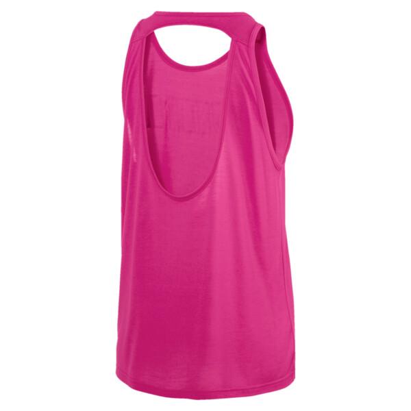Own It Women's Tank Top, Fuchsia Purple-PUMA wording, large