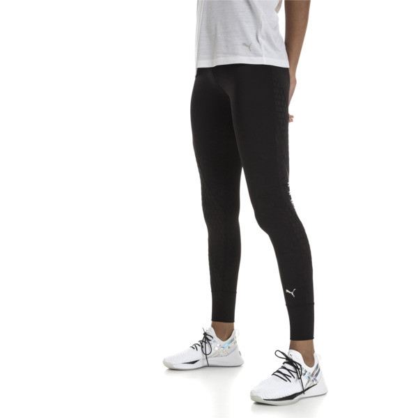 On the Brink Women's 7/8 Leggings, Puma Black, large