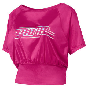 Thumbnail 4 of On the Brink Women's Tee, Fuchsia Purple, medium