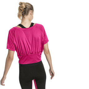 Thumbnail 2 of On the Brink Women's Tee, Fuchsia Purple, medium