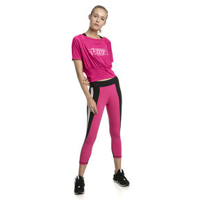 Thumbnail 3 of On the Brink Women's Tee, Fuchsia Purple, medium