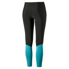 Thumbnail 5 of Aire 7/8 Women's Leggings, Puma Black-Caribbean Sea, medium