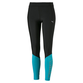 Thumbnail 4 of Aire 7/8 Women's Leggings, Puma Black-Caribbean Sea, medium