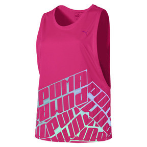 Thumbnail 4 of Aire Women's Tank, Fuchsia Purple Heather, medium