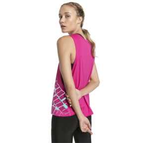 Thumbnail 2 of Aire Women's Tank, Fuchsia Purple Heather, medium