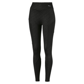 Thumbnail 4 of Bold Graphic Women's Training Leggings, Puma Black-Emboss, medium