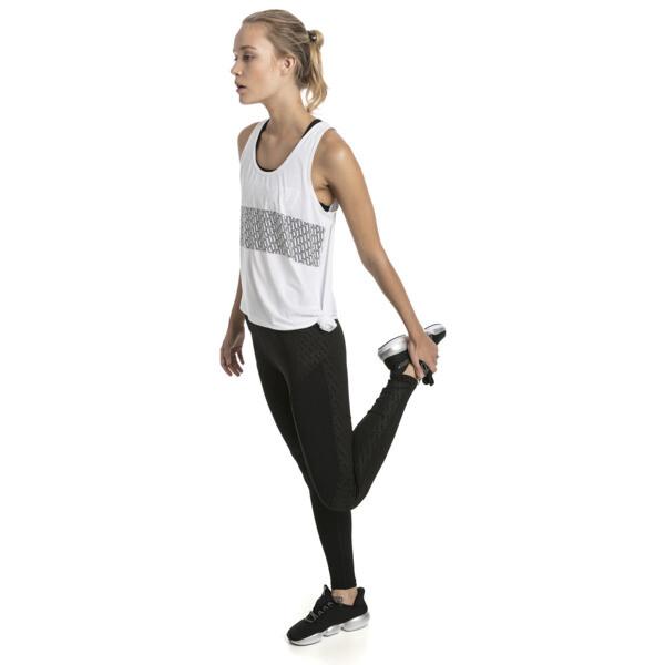 Bold Graphic Women's Leggings, Puma Black-Emboss, large