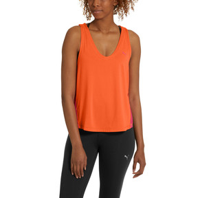 Thumbnail 2 of Women's Logo Tank, Nasturtium, medium