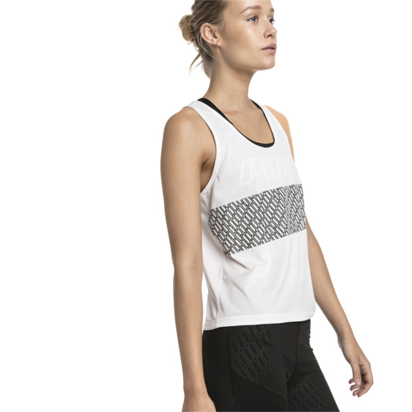 Women's Training Tank Top, Puma White, large