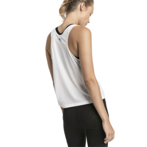 Thumbnail 2 of Women's Training Tank Top, Puma White, medium