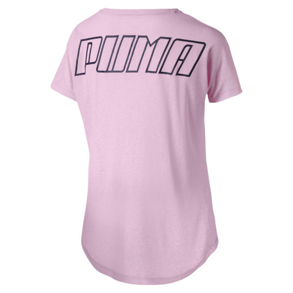 T-Shirt Bold Training pour femme, Pale Pink, large