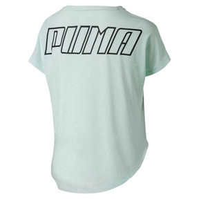 Thumbnail 2 of Bold Women's Tee, Fair Aqua, medium