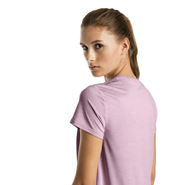 Turn It Up trainingsshirt voor vrouwen, Gemêleerd bleekroze, large
