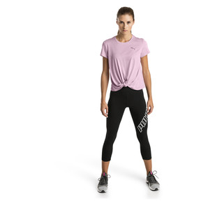 Thumbnail 3 of T-shirt pour l'entraînement Turn It Up pour femme, Pale Pink Heather, medium