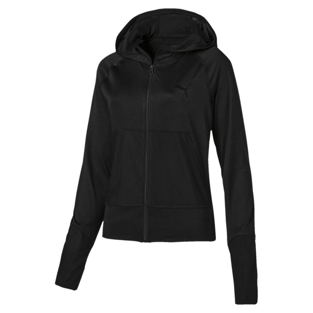 Image Puma Knockout Knitted Women's Sweat Jacket #1
