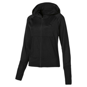 Knockout Damen Kapuzen-Sweatjacke