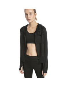 Image Puma Knockout Knitted Women's Sweat Jacket