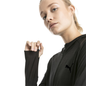 Thumbnail 4 of Knockout Women's Jacket, Puma Black Heather, medium