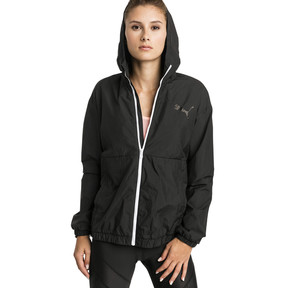 Thumbnail 1 of A.C.E. Bold Women's Wind Jacket, Puma Black, medium