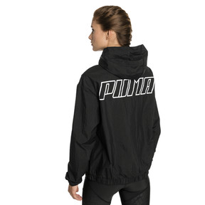 Thumbnail 2 of A.C.E. Bold Women's Wind Jacket, Puma Black, medium