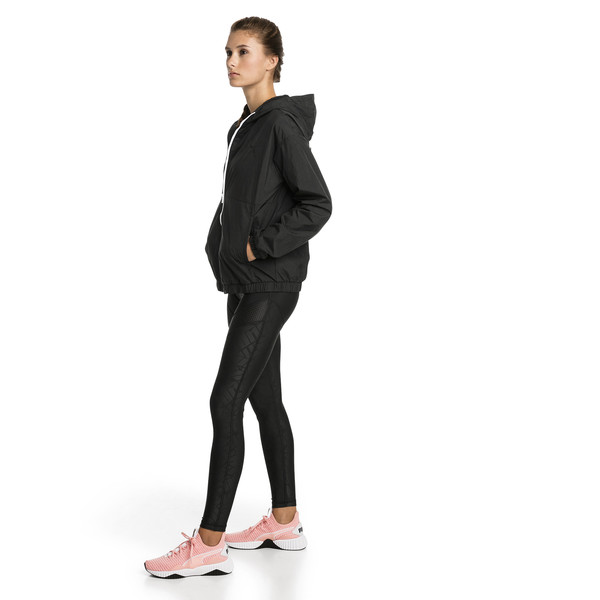 A.C.E. Bold Women's Wind Jacket, Puma Black, large
