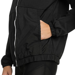 Thumbnail 4 of A.C.E. Bold Women's Wind Jacket, Puma Black, medium
