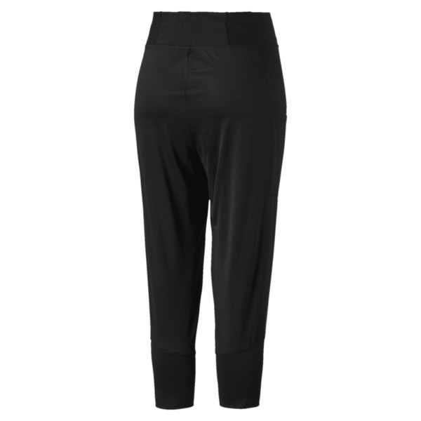 Knockout Women's 3/4 Pants, Puma Black Heather, large
