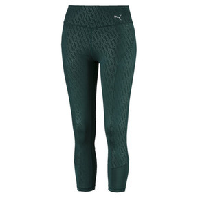Thumbnail 4 of Bold Graphic 3/4 Women's Training Tights, Ponderosa Pine-Emboss, medium