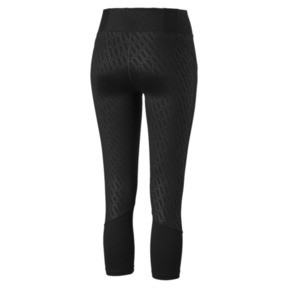 Thumbnail 5 of Pantalon de sport 3/4 Bold Graphic Training pour femme, Puma Black-Emboss, medium