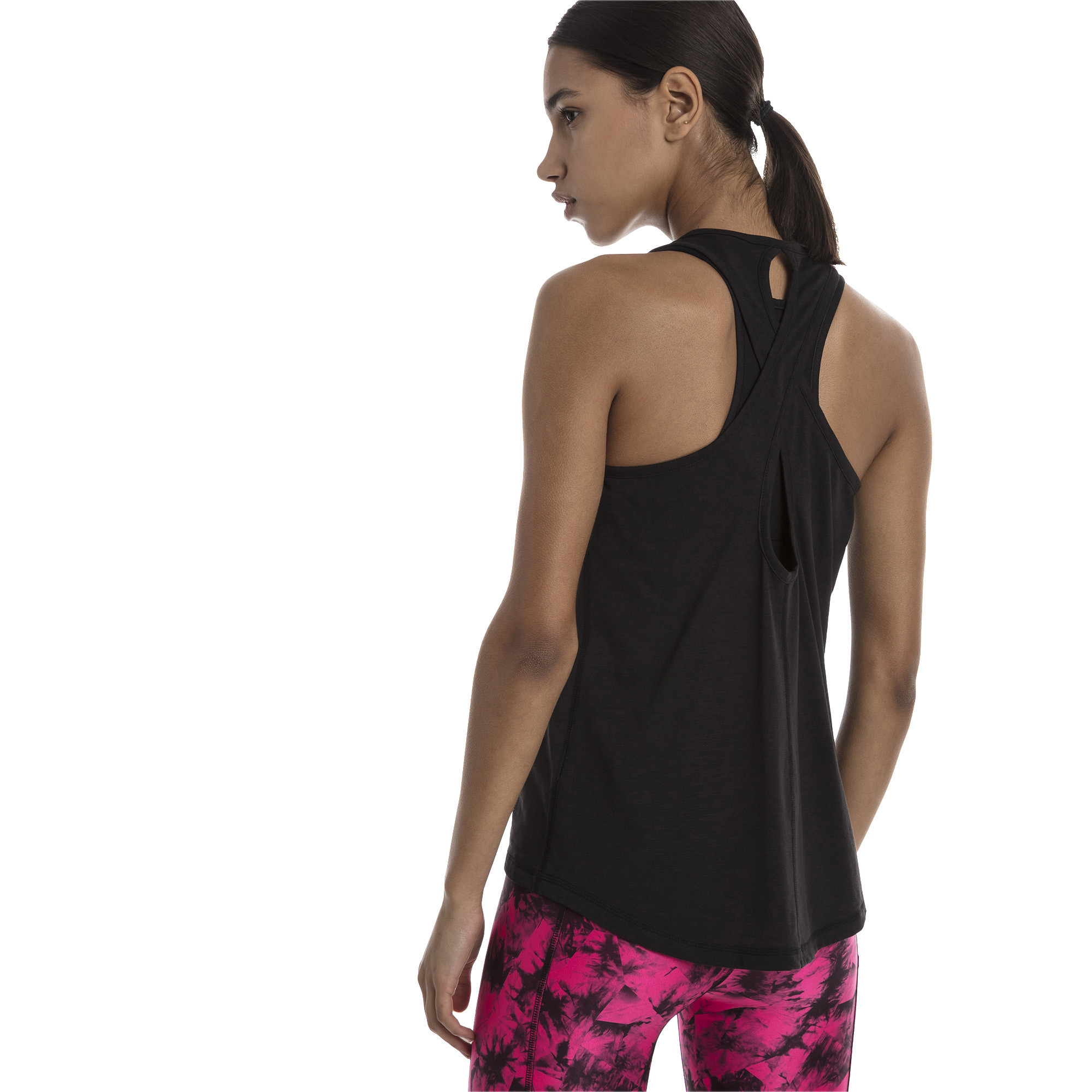 PUMA-Twist-It-Women-s-Logo-Tank-Women-Tank-Training thumbnail 10