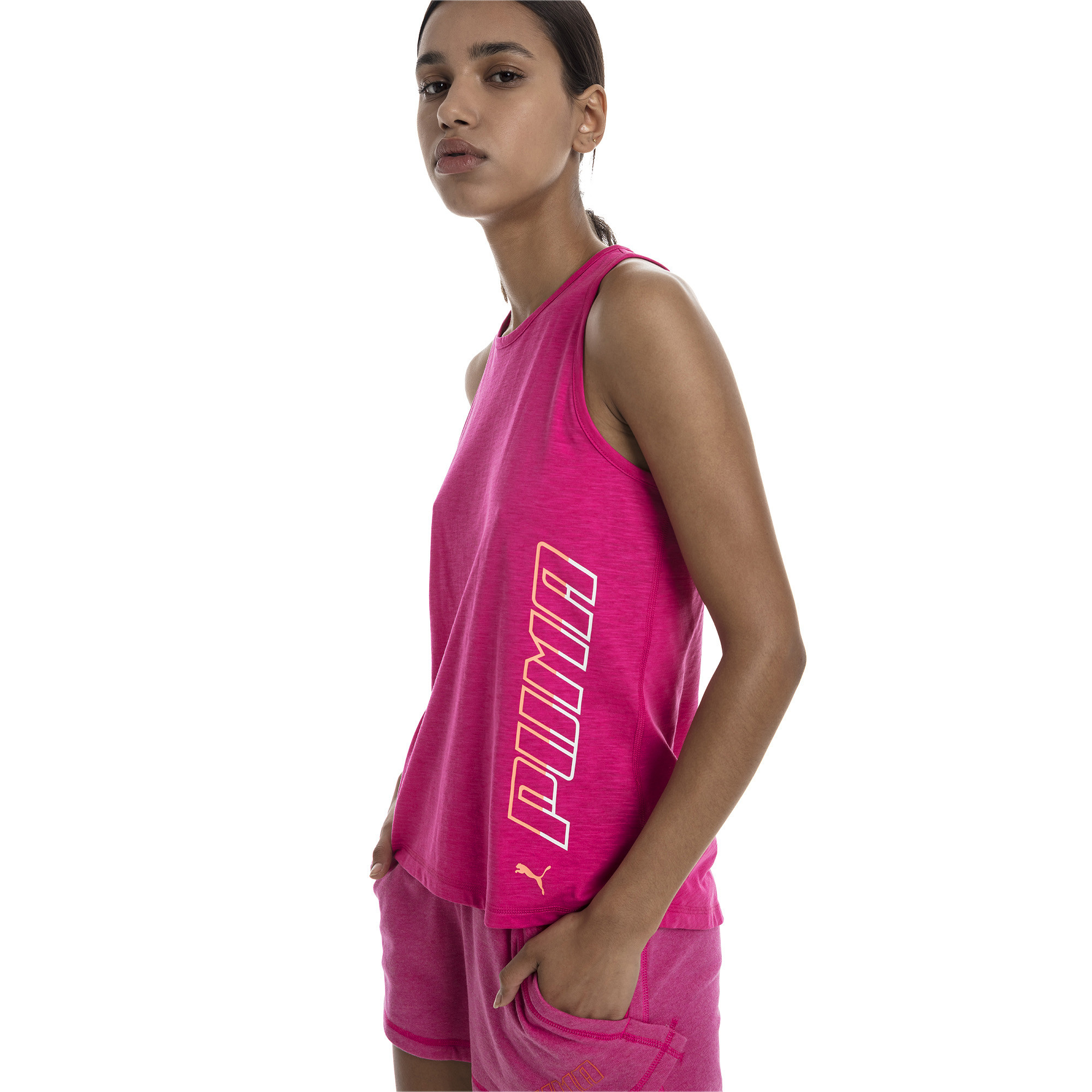 PUMA-Twist-It-Women-s-Logo-Tank-Women-Tank-Training thumbnail 4