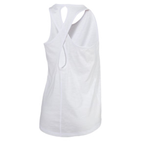 Thumbnail 2 of Twist It Women's Logo Tank, Puma White, medium