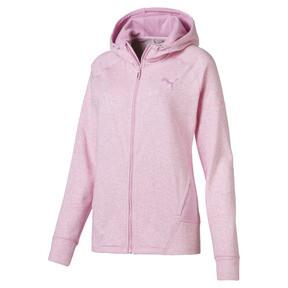 Thumbnail 1 of Yogini Women's Full Zip Jacket, Pale Pink Heather, medium