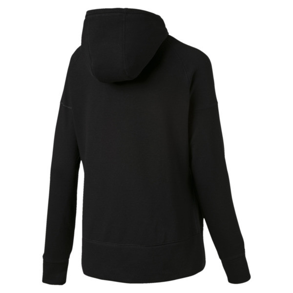 Yogini Knitted Full Zip Women's Track Jacket, Cotton Black, large