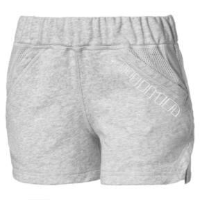 "Thumbnail 1 of A.C.E. Yogini 3"" Women's Training Shorts, Light Gray Heather, medium"