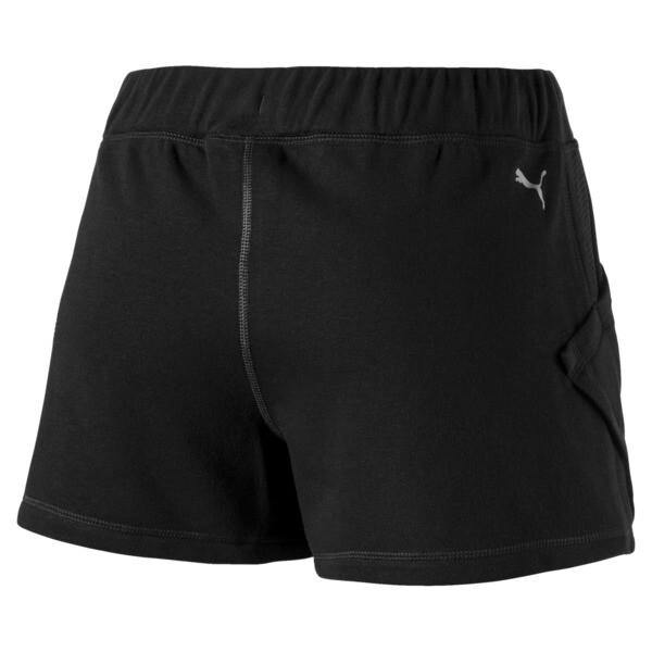 "Yogini Women's 3"" Shorts, Cotton Black, large"