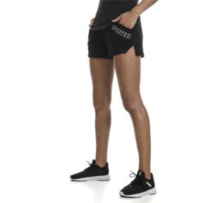 "Thumbnail 1 of Yogini Women's 3"" Shorts, Cotton Black, medium"