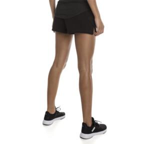 "Thumbnail 2 of Yogini Women's 3"" Shorts, Cotton Black, medium"