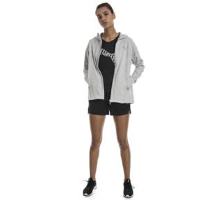 "Thumbnail 3 of Yogini Women's 3"" Shorts, Cotton Black, medium"