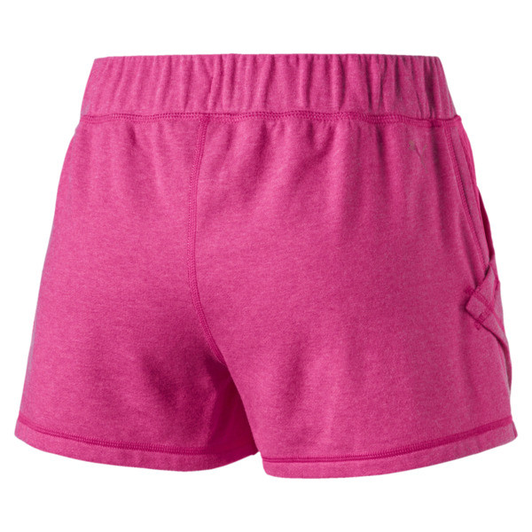 "A.C.E. Yogini 3"" Women's Training Shorts, Fuchsia Purple Heather, large"