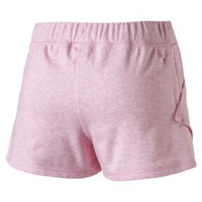 "Thumbnail 2 of Yogini Women's 3"" Shorts, Pale Pink Heather, medium"