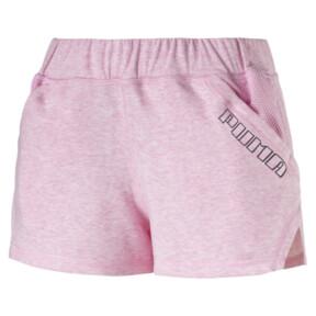 "Thumbnail 1 of Yogini Women's 3"" Shorts, Pale Pink Heather, medium"