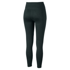 Thumbnail 5 of Yogini Logo 7/8 Women's Training Tights, Ponderosa Pine Heather, medium