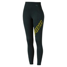 Thumbnail 4 of Pantalon de sport 7/8 Yogini Logo pour femme, Ponderosa Pine Heather, medium