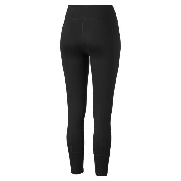 Yogini Logo Women's 7/8 Leggings, Puma Black, large