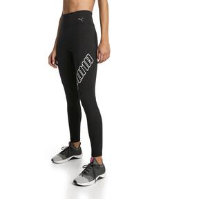 Thumbnail 1 of Yogini Logo 7/8 Women's Training Tights, Puma Black, medium