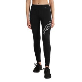 Thumbnail 1 of Yogini Logo Women's 7/8 Leggings, Puma Black, medium