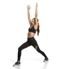 Thumbnail 3 of Yogini Logo 7/8 Women's Training Tights, Puma Black, medium