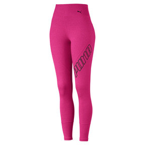 Thumbnail 4 of Pantalon de sport 7/8 Yogini Logo pour femme, Fuchsia Purple Heather, medium